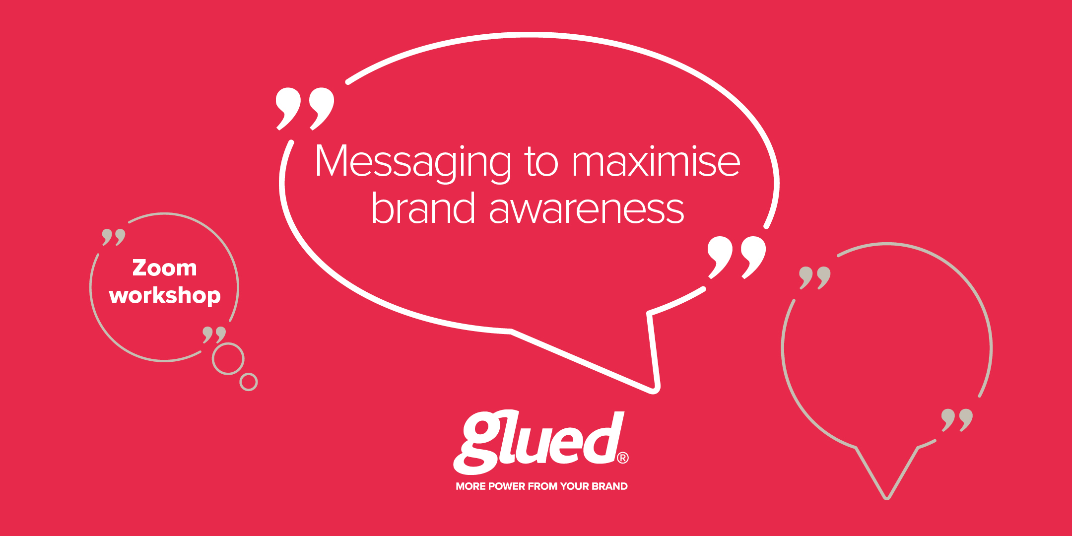 Messaging to maximise brand awareness